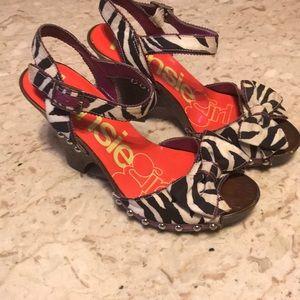 Kenzie girl studded heels